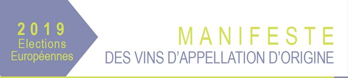 Elections européennes 2019 | Manifeste des vins d'origine